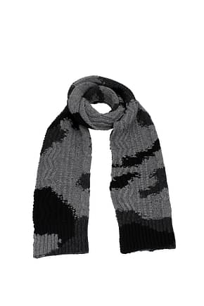 Valentino Foulard Men Wool Gray