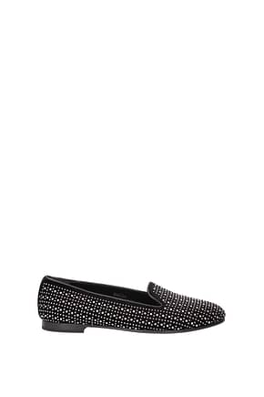 Church's Slip on Women Velvet Black