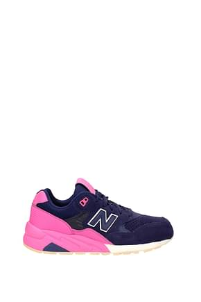 New Balance Sneakers Men Suede Blue