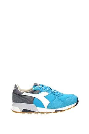 Diadora Heritage Sneakers Men Suede Blue