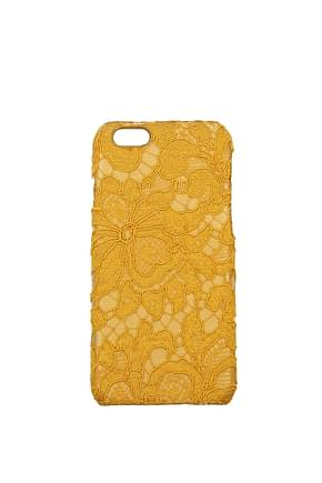 Dolce&Gabbana iPhone cover Women Fabric  Yellow