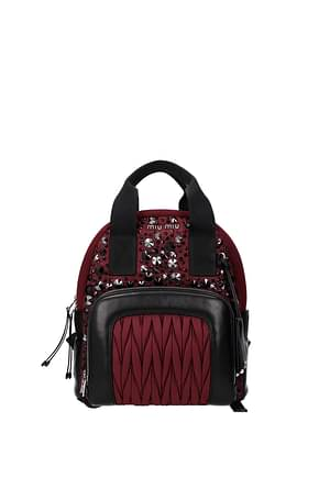 Miu Miu Backpacks and bumbags Women Leather Red