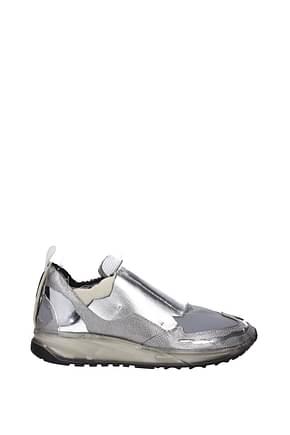 Maison Margiela Sneakers Herren Stoff Grau