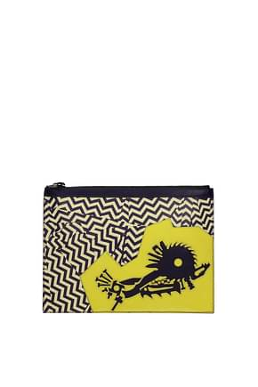 Kenzo Clutches Women Leather Multicolor