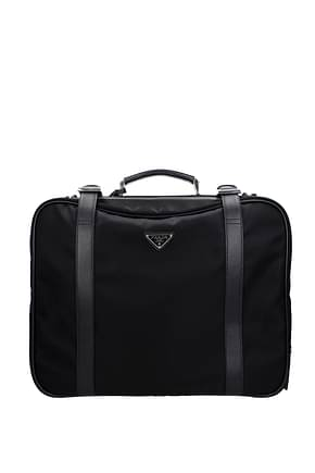 Wheeled Luggages Prada Men