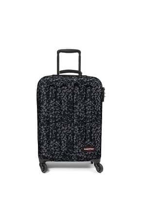 Eastpak Wheeled Luggages Women Fabric  Black