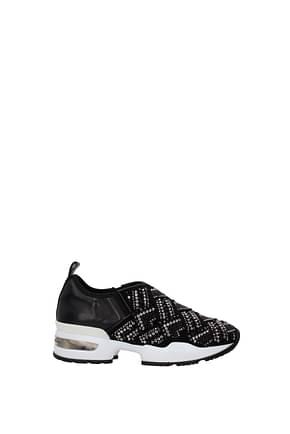 Scervino Sneakers Donna Tessuto Nero