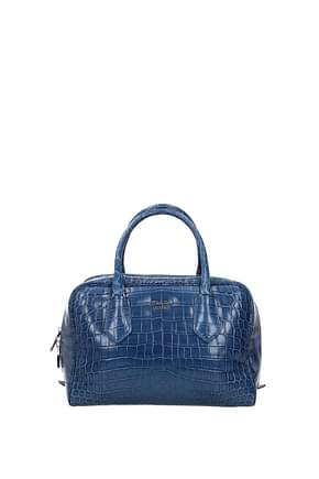 Prada Handbags Women Leather Crocodile Heavenly
