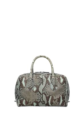 Prada Handbags Women Leather Python Heavenly