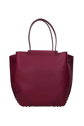 Tod's Handbags Women Leather Violet