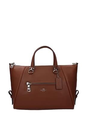 Coach Handbags primrose Women Leather Brown