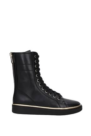 Balmain Ankle Boot Men Leather Black