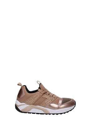 Armani Emporio Sneakers 7.0 trainer ea7 Women Fabric  Beige