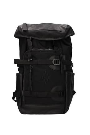 Marcelo Burlon Backpack and bumbags Men Fabric  Black