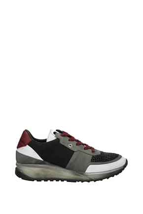 Sneakers Leather Crown Uomo