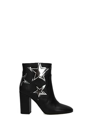 Pinko Ankle boots Women Leather Black