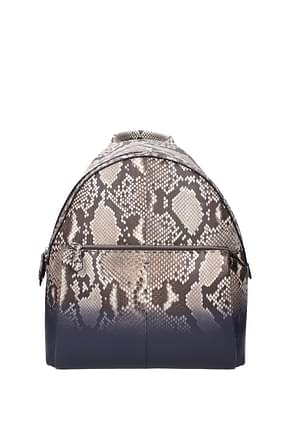 Fendi Backpack and bumbags Men Leather Python Brown
