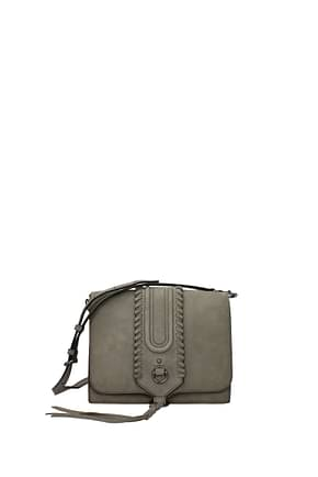 Rebecca Minkoff Crossbody Bag Women Suede Gray