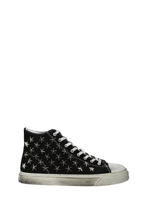 Gienchi Sneakers jean michael Women Fabric  Black