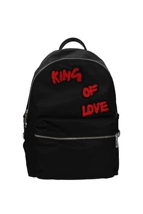 Dolce&Gabbana Backpack and bumbags Men Fabric  Black