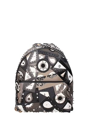 Fendi Backpack and bumbags Men Leather Multicolor