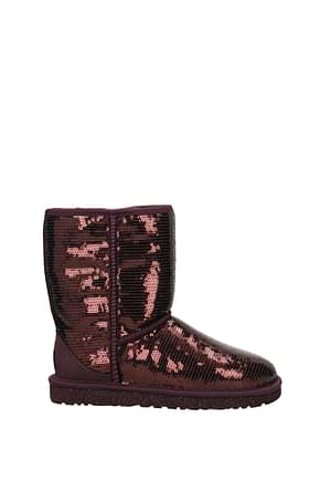 Ankle boots UGG sparkles Woman