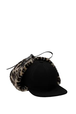Stella McCartney Hats Women Fabric  Black