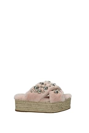 Slippers and clogs Miu Miu Women