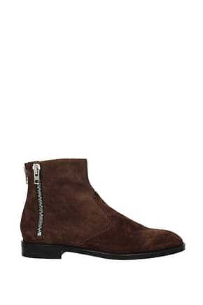 Givenchy Ankle Boot chelsea Men Suede Brown