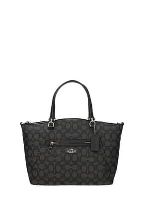 Coach Handbags Women Fabric  Gray