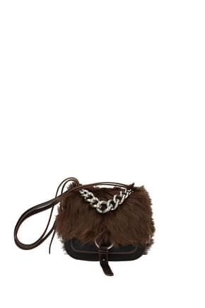 Miu Miu Handbags Women Leather Black