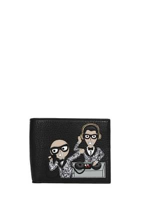 Wallets Dolce&Gabbana patch d&g family Men