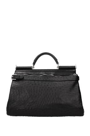 Dolce&Gabbana Work bags Men Struthio Camelus Black