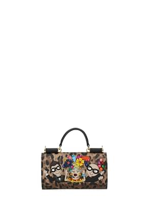iPhone cover Dolce&Gabbana phone bag patch d&g family Women