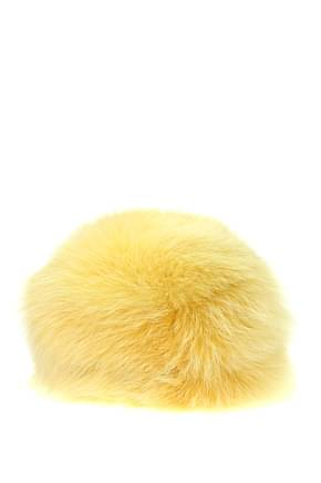 Prada Hats Women Fox Yellow
