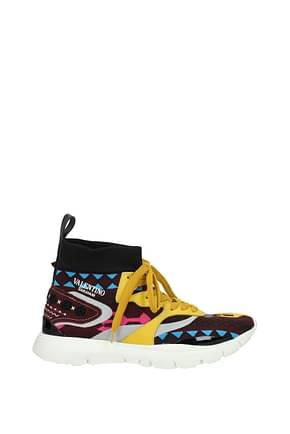 Valentino Garavani Sneakers Uomo Tessuto Multicolor