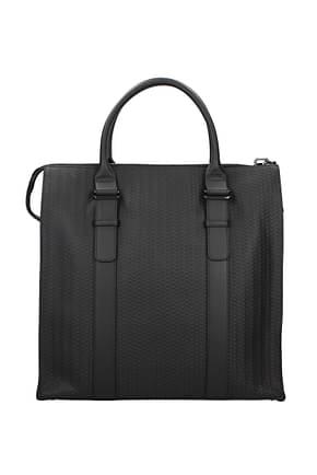 Zanellato Handbags squero Men Leather Black