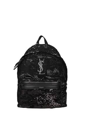 Saint Laurent Backpack and bumbags Men Sequins Black