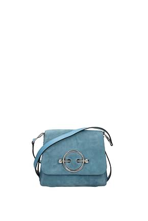 Jw Anderson Crossbody Bag Women Suede Heavenly