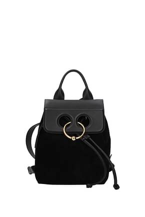 Jw Anderson Backpacks and bumbags Women Suede Black