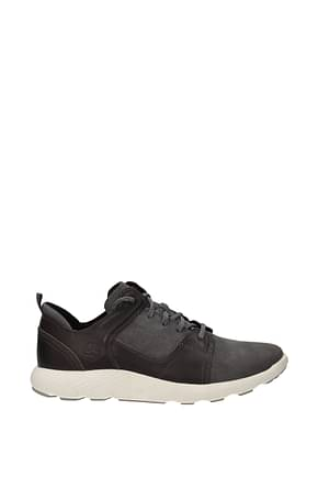 Timberland Sneakers flyroam Men Leather Gray