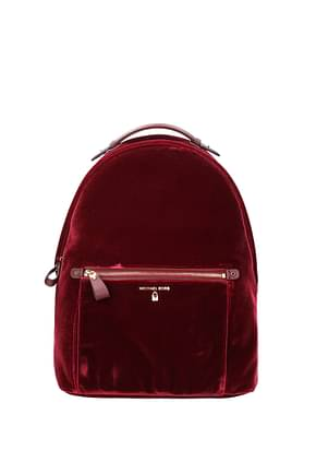 Michael Kors Backpacks and bumbags kelsey lg Women Velvet Red