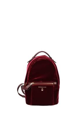 Michael Kors Backpacks and bumbags kelsey Women Velvet Red