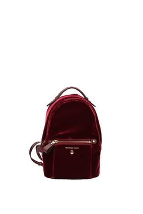Michael Kors Backpacks and bumbags kelsey Women Velvet Red