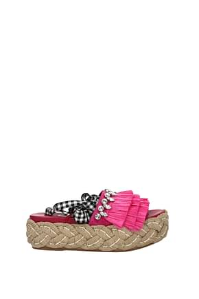 Slippers and clogs Miu Miu Women