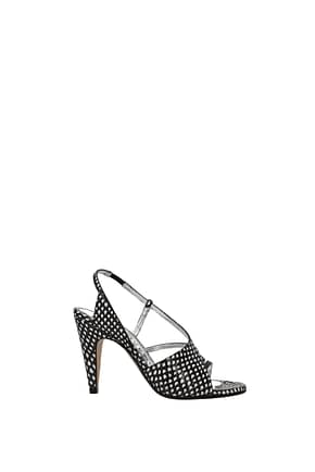Givenchy Sandals Women Leather Black