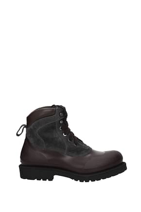 Ankle boots Salvatore Ferragamo forest Men