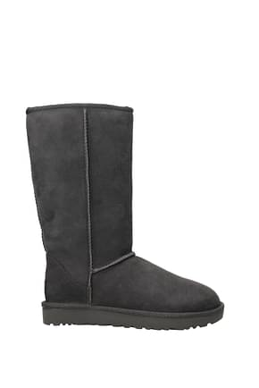 UGG Ankle boots classic tall ll Women Suede Gray Grey