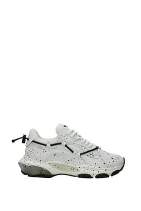 Valentino Garavani Sneakers Hombre Piel Blanco Negro