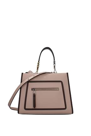 Fendi Handbags runaway small Women Leather Pink